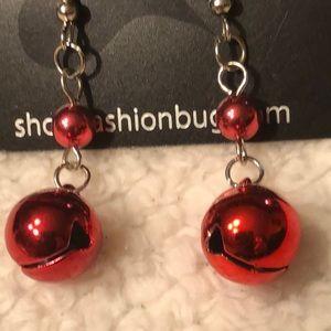 Jewelry - 🎁3 for $12!! Beautiful jingle bells earrings